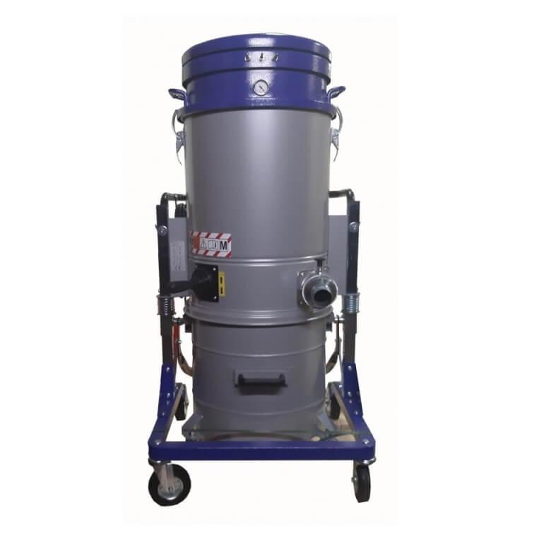 Aspirador industrial polvo Viudez AV 3665 M de 3600W con accesorios