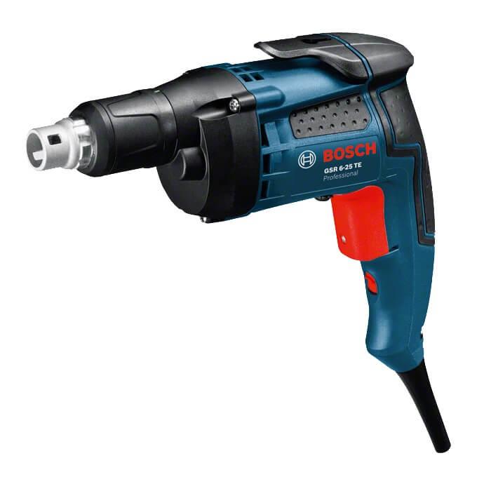 Atornillador con tope de profundidad Bosch GSR 6-25 TE Professional - 701W