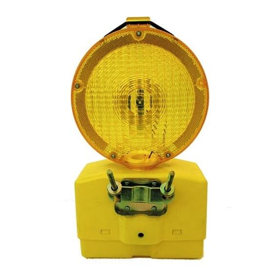 Baliza de señalización Basic intermitente 2 baterías