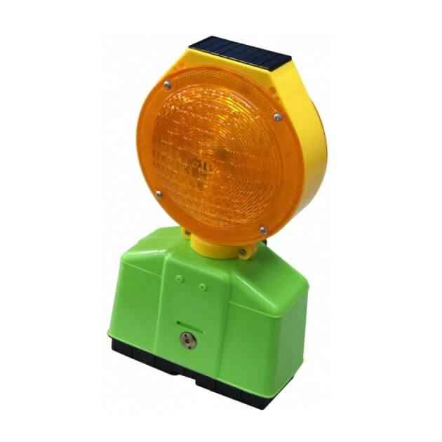 Baliza de señalización solar