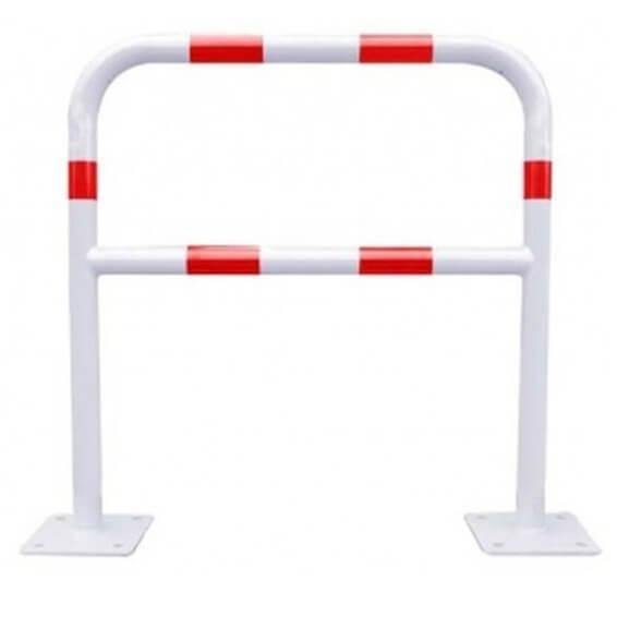 Barrera de protección Blanca/Roja MetalWorks BAR400RB de 40x1000x1000mm