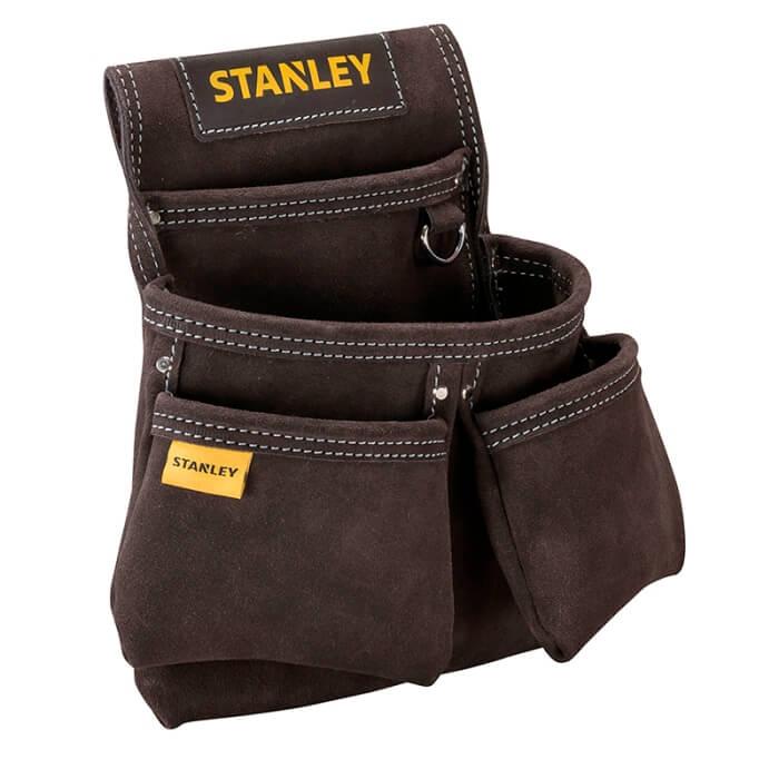 Bolsa porta-herramientas para clavos con 2 bolsillos Stanley - Referencia STST1-80116
