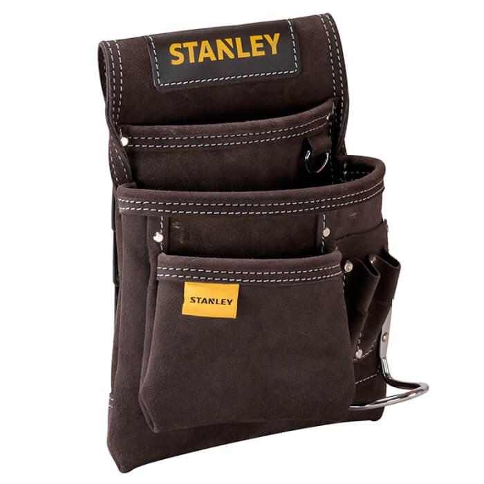Bolsa porta-herramientas para clavos con soporte para martillo Stanley