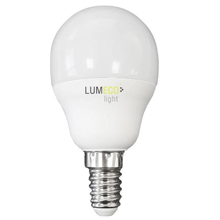 Bombilla Esferica LED E14 5W 400 lumens - 6.400K