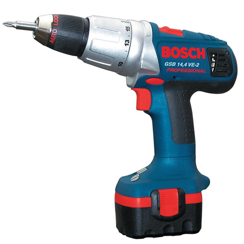 Taladro percutor Bosch GSB 14,4 VE-2 Professional + Regalo banco - Referencia 0601913420