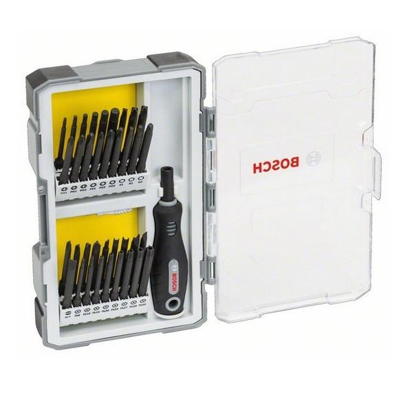 Juego 37 destornilladores con empuñadura Bosch Professional