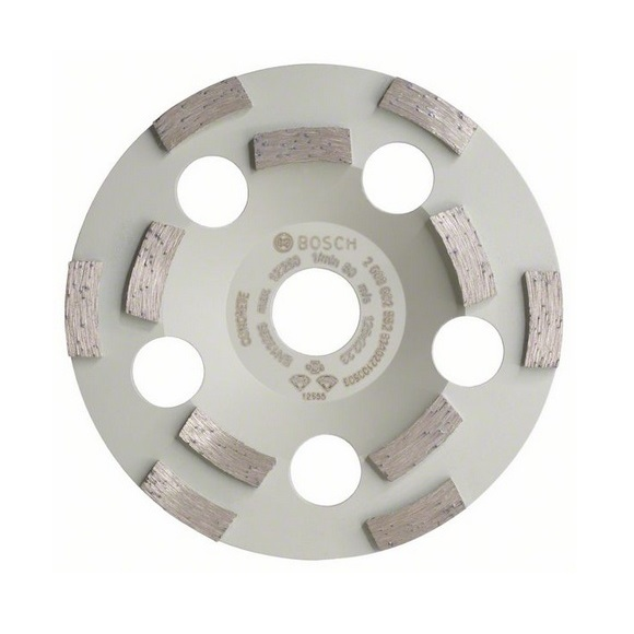 Muela de vaso de diamante Bosch para hormigón Prof. - Ø125mm - Referencia 2608602552