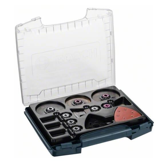 Maletín de accesorios para multiherramienta Bosch i-BOXX Pro de 34 piezas - Referencia 2608662013