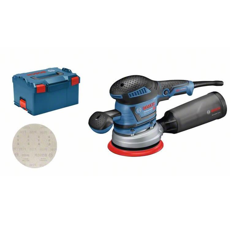 Bosch GEX 40-150 + L-BOXX - Lijadora excéntrica