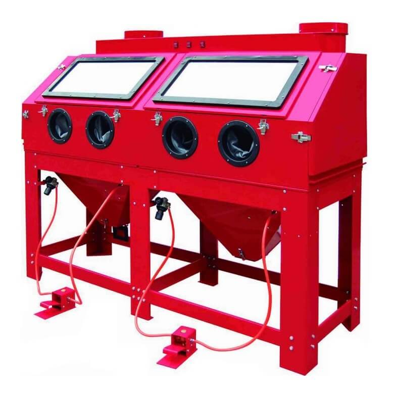Cabina chorreadora de arena MetalWorks CAT880 de 880 litros