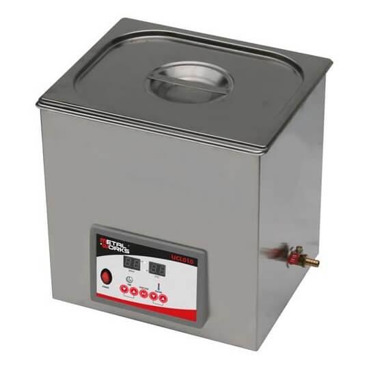 Cabina limpiadora ultrasónica digital MetalWorks UCL010 de 10 litros