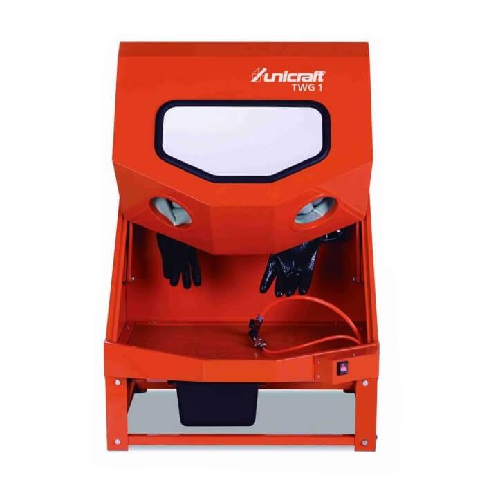 Cabina limpiadora Unicraft TWG 1 de 140 litros