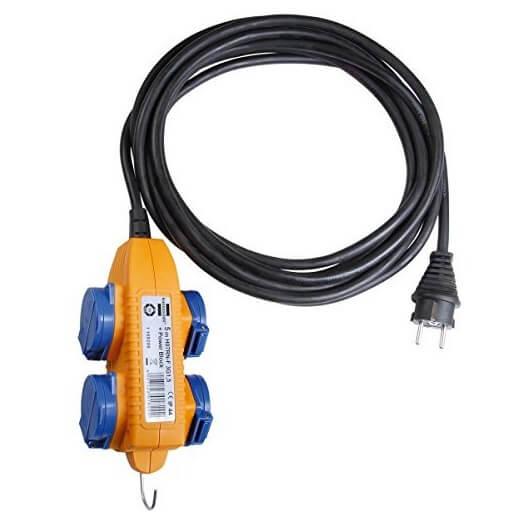 Extensión de cable profesional Brennenstuhl IP54 - Referencia 1169210