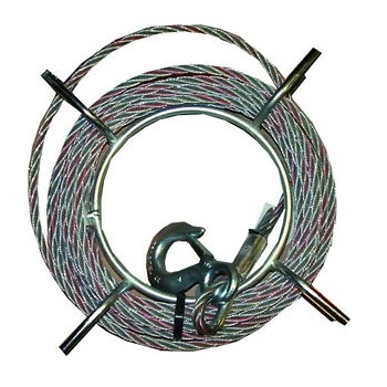 Cable Tractel para TIRFOR T-7 / T-508 Modelo B-10 (10 metros)
