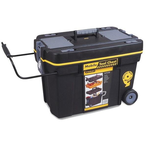 Caja de herramientas con ruedas contratista stanley c turr - Baules con ruedas ...
