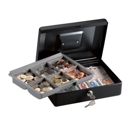 Caja de caudales para dinero con bandeja CB-10ML