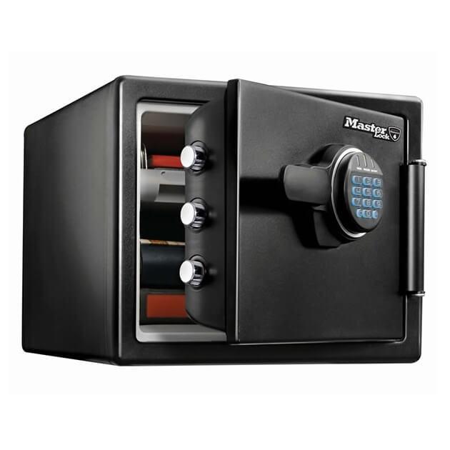 Caja fuerte de alta seguridad grande con comb. electrónica Masterlock LFW082FTC