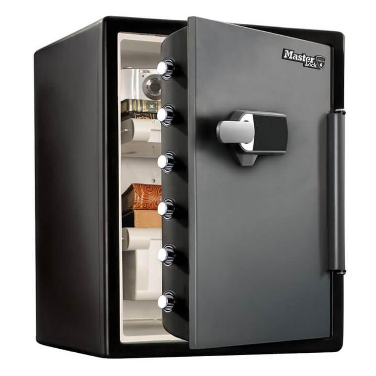 Caja fuerte de alta seguridad grande con con comb. electrónica + alarma Masterlock LFW205TWC