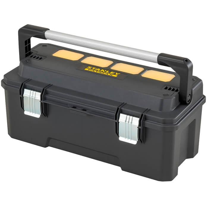 Caja de herramientas Pro con organizadores en bandeja cantilever Stanley - 26