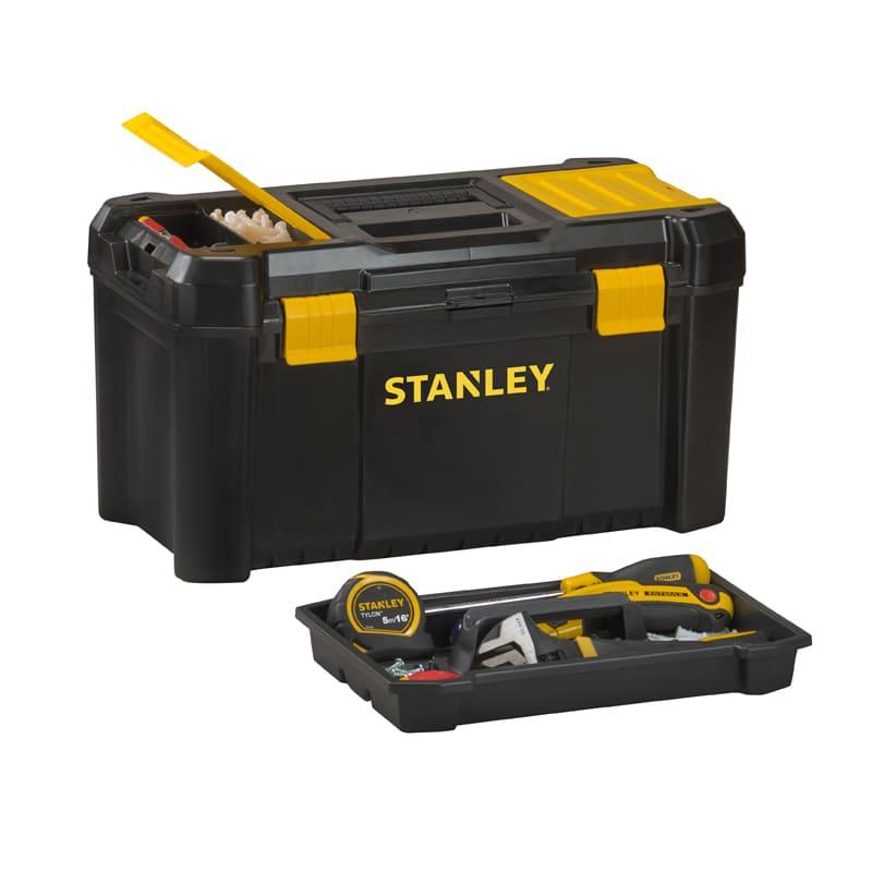 Caja de herramientas de plástico Stanley Essential - 32cm - Referencia STST1-75514