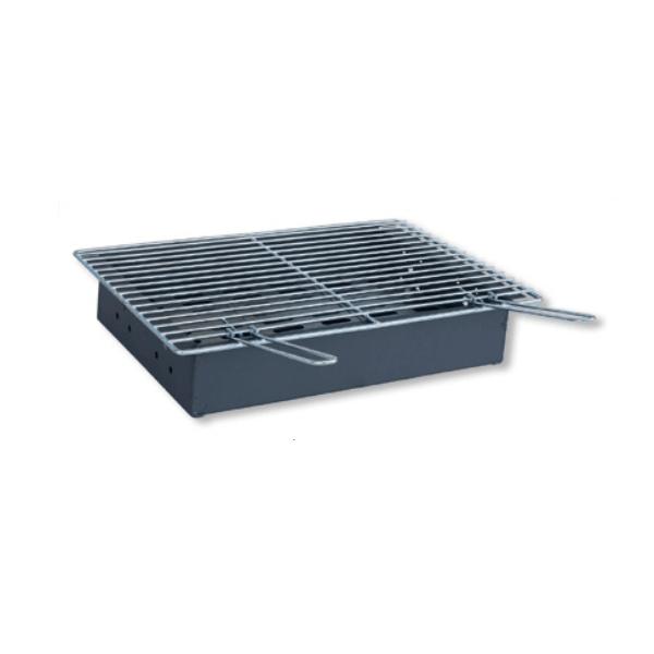 Cajón carbón para paellero Flores Cortés de 580x410x110mm