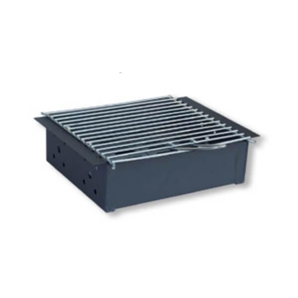 Cajón carbón para paellero Flores Cortés de 390x310x110mm