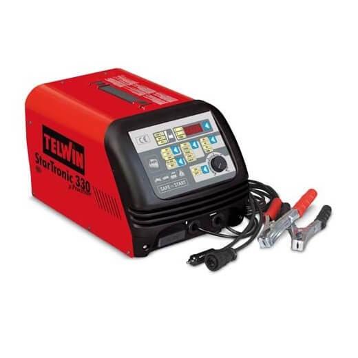 Cargador arrancador baterías Telwin Startronic 330