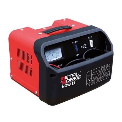 Cargador de baterías MetalWorks Nova 15