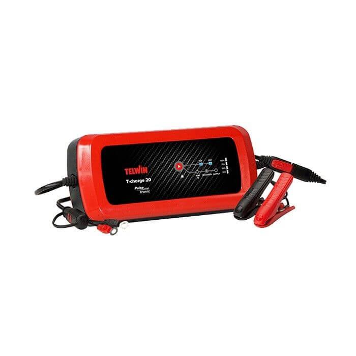 Cargador de baterías Telwin T-Charge 20 Boost 12V/24V