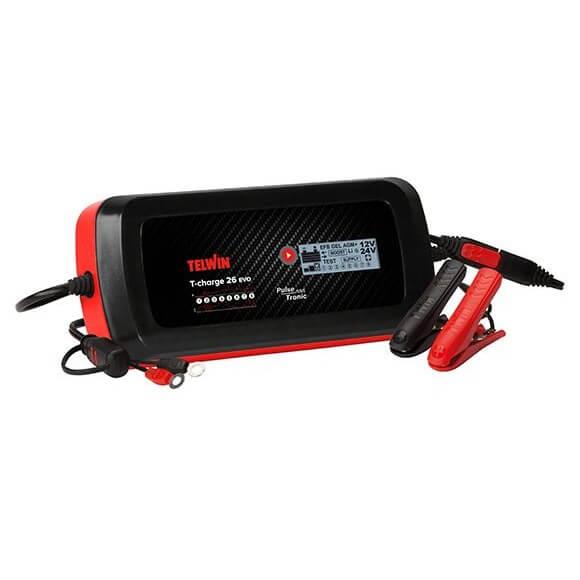 Cargador de baterías Telwin T-Charge 26 Boost 12V