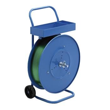 Carro porta-fleje plegable con ruedas