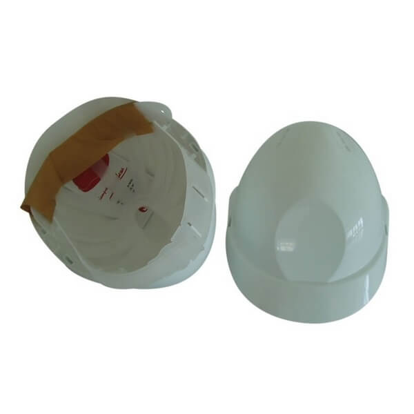 Casco de protección económico JAR - Color Blanco