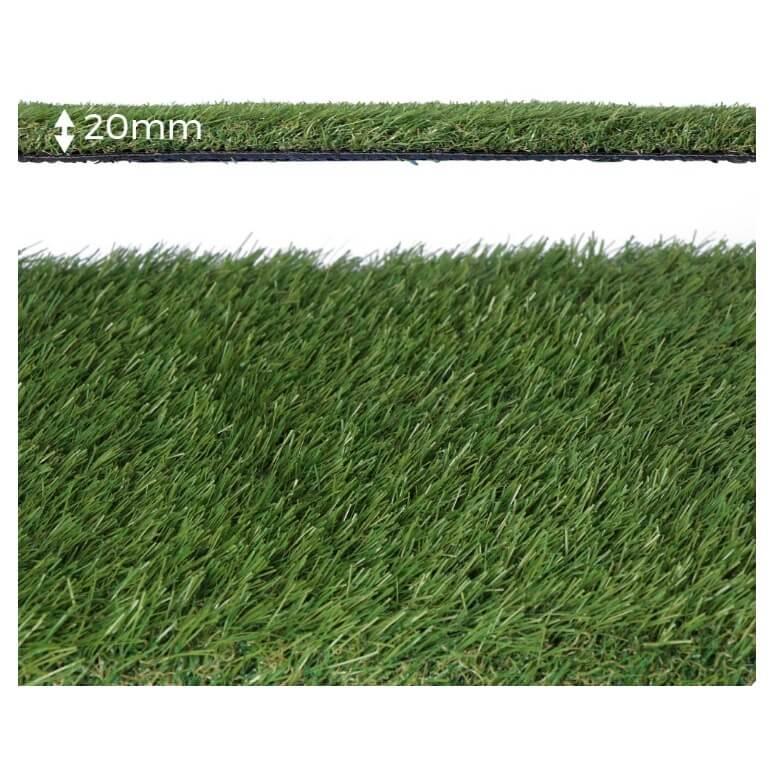 Césped artificial Graceful 20mm (Rollo de 1x5 metros) - Referencia 75826