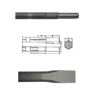 Cincel hexagonal inserción Kango - 300mm