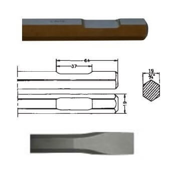 Cincel inserción Bosch USB-10=11305 (Hexagonal 19mm) de 400mm - Referencia 00422