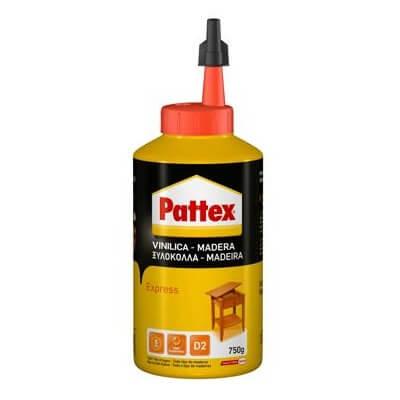 Cola madera Pattex Express (Tubo 750 gramos)
