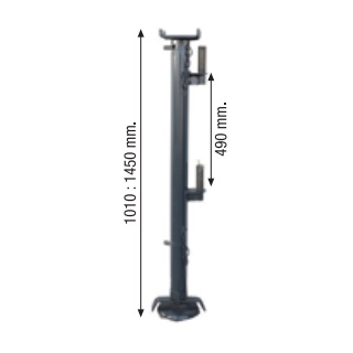 Columna F para elevadores a cable Minor Camac  - Referencia 5000016