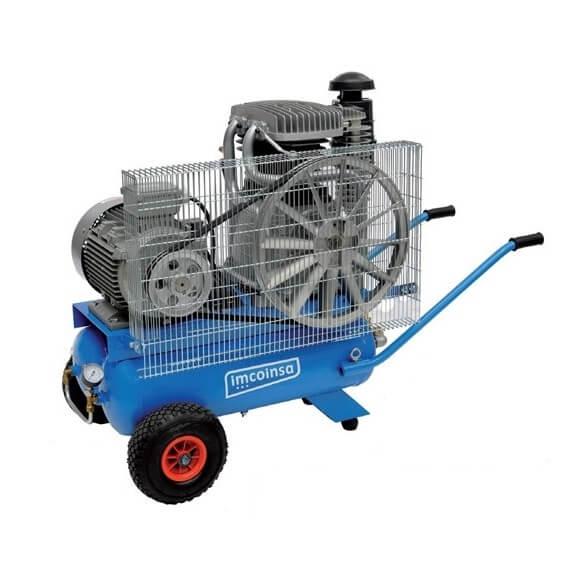 Compresor de aire marcha en vacío depósito doble Imcoinsa IMGOT 4/18+18-M