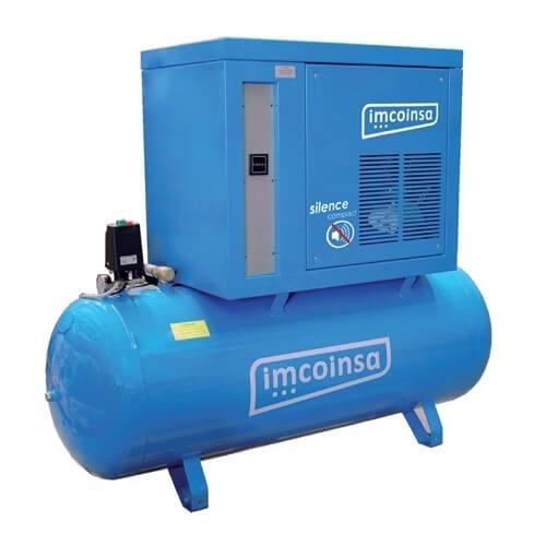Compresor insonorizado sobre depósito Imcoinsa SILENCE Compact 10/500-T-AU de 500 Litros