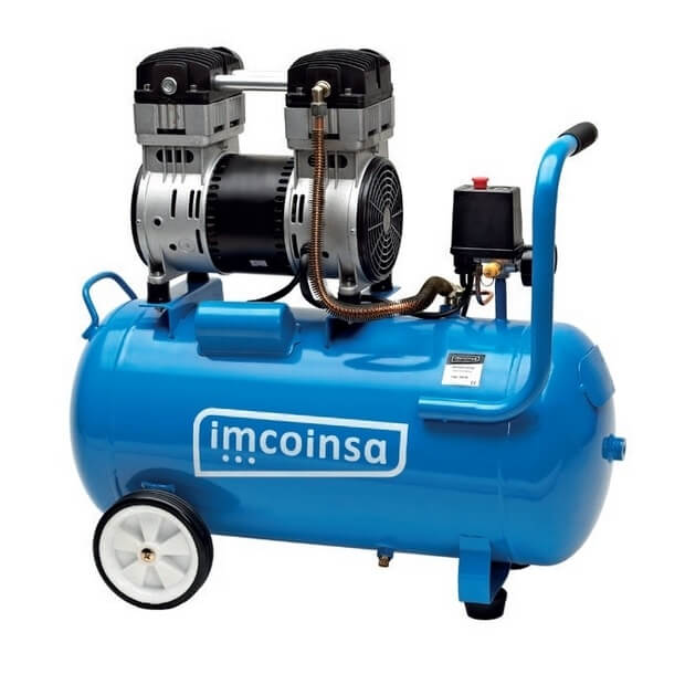 Compresor de aire insonorizado Imcoinsa SILENCE - 50 litros - Referencia 04650