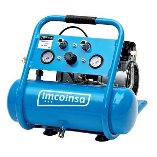 Compresor de aire insonorizado Imcoinsa SILENCE - 6 litros PLUS - Referencia 04607