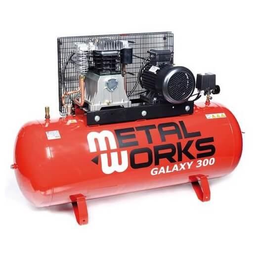 Compresor de aire MetalWorks Galaxy 300 de 270 litros
