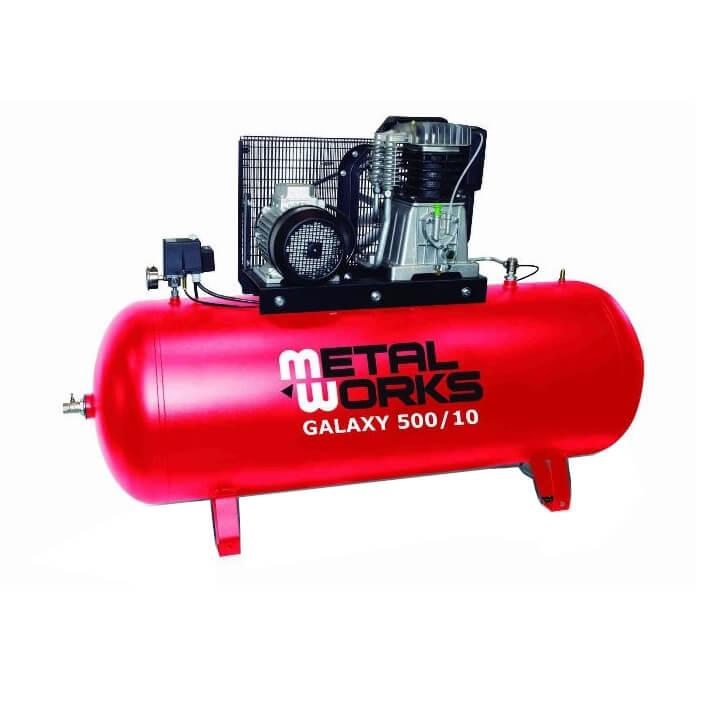 Compresor de aire MetalWorks Galaxy 500/10 de 500 litros