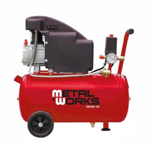 Compresor de aire MetalWorks Orion 24 de 24 litros