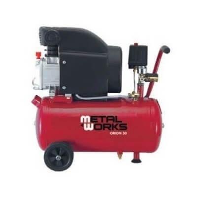 Compresor de aire MetalWorks Orion 50 de 50 litros