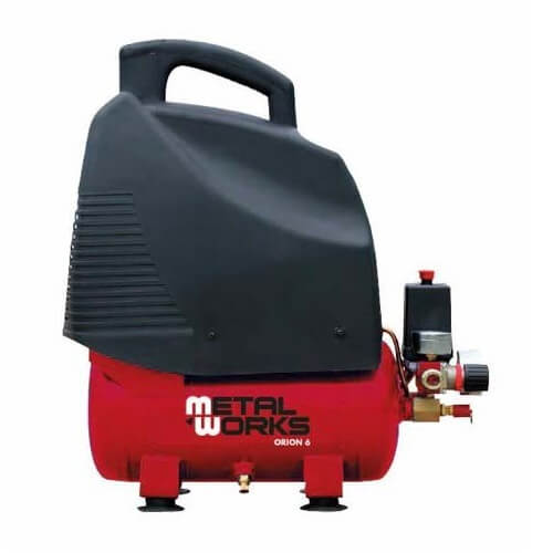 Compresor de aire MetalWorks Orion 6 de 6 litros