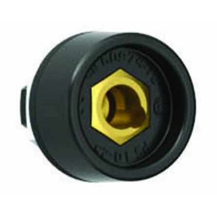 Conectores DINSE fijos Solter HEMBRA de 10/25mm (2 unidades) - Referencia 06121