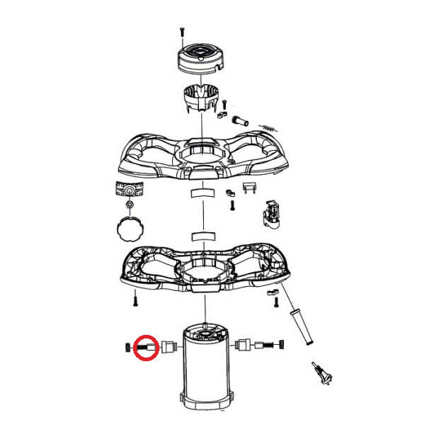 Escobilla Recambio Rubi Rubimix-16 Ergomax 230V