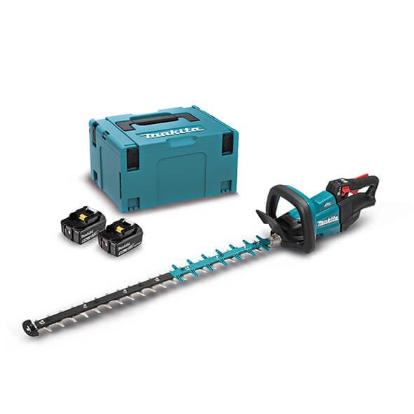 Cortasetos Makita DUH751PTJ 18V LXT 75cm con 2 baterías 5Ah