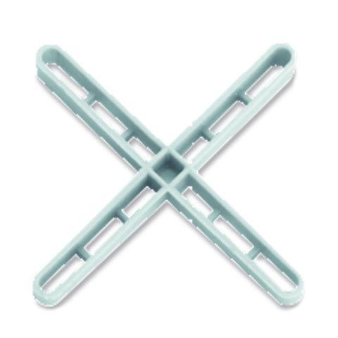 Crucetas Juntas de 3 mm. Largas 'Reforzadas' Rubi - 1000 unidades